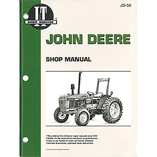 JD58 New John Deere Tractor Shop Manual 2150 2155 2255 2350 2355 2355N 2550 2555