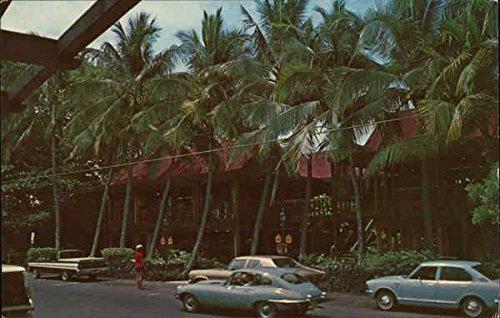 Shopping Arcade on Beautiful Alii Drive Kailua-Kona, Hawaii Original Vintage - Drive Alii