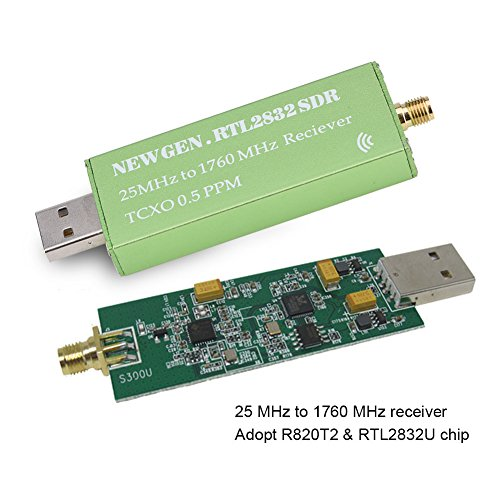 Richer-R USB RTL-SDR 0.5PPM TCXO SMA Connector 25 to 1760 MHz Reciever,Compatible with Windows Macos Linux Android Embedded Linux Computers by Richer-R (Image #2)
