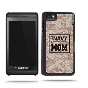 Proud Navy Mom 3 Camo Blackberry Z10 Case - For Blackberry Z10