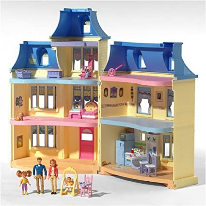 Amazon Com Loving Family Sweet Sounds Dollhouse Toys Games