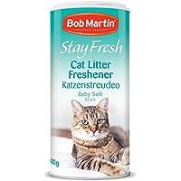 Bob Martin Stay Fresh Katzenstreu Lufterfrischer Baby Soft Duft, 400g