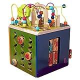 New Zany Zoo Wooden Activity Cube