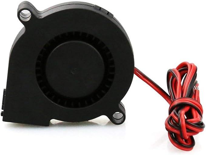 3D Printer Parts 50mm*50mm*15mm 5015 Radial Turbo Blower Fan Cooling Fan new