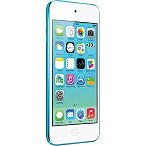Apple iPod touch 16GB Reproductor de MP4 16GB Azul - Reproductor MP3 (Reproductor de MP4, iOS, ARA, CHI (SIMPL), CHI (TR), CZE, DAN, Alemán, Holandés, Inglés, Español, Francés, GRE, HEB,..., Apple A5, Azul, Digital)
