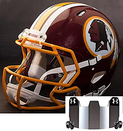 Amazon.com   Riddell Speed Washington Redskins NFL Replica Football ... e48d86305aa