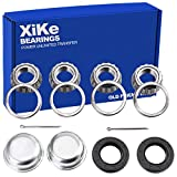 XiKe 2 Set Fits for 25mm Axles Trailer Wheel Hub