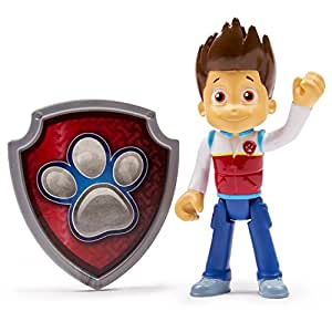 Amazon Com Paw Patrol Action Pack Pup Badge Ryder Toy Toys Games