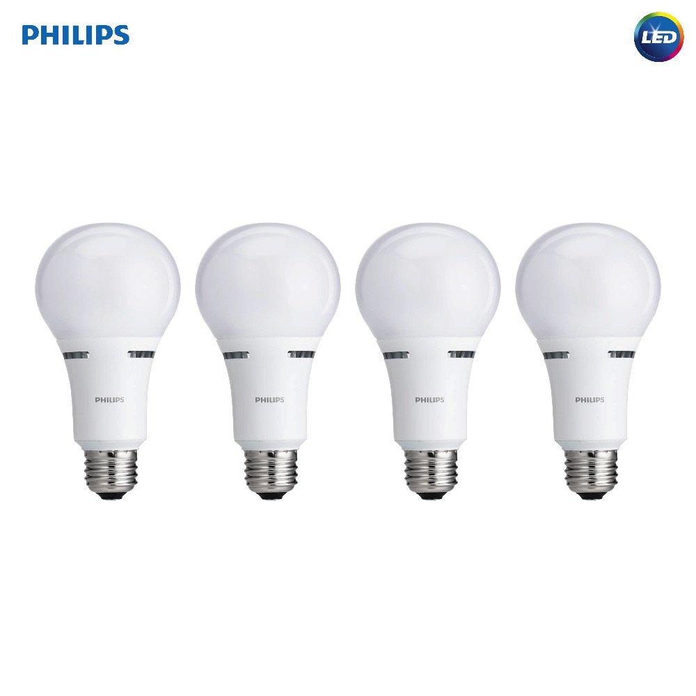 Philips 459156 40 / 60 / 100 W相当3ウェイa21 LEDライト電球(4パック) 2 Pack H&PC-50099 2 B01CEK1O4E 2 Pack  2 Pack