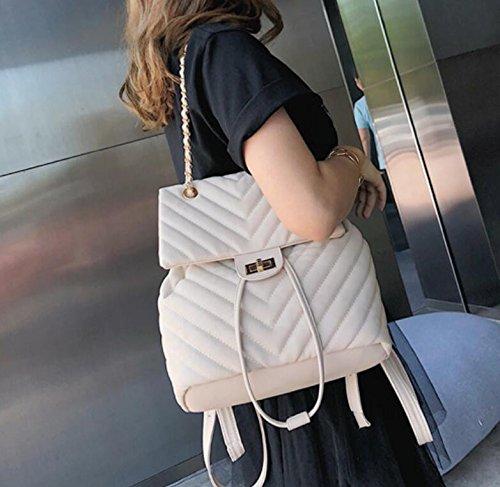 Usage Carré À Bandoulière Sac À Sac Sac Bandoulière White Blanc Multi Mode Sac Petit Meaeo Sac Diagonal vY0Opw