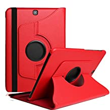 Tablet Cover For Tab A 10.1 T580,TechCode 360 Rotating Magnetic PU Leather with Smart Auto Sleep/Wake Feature Case Cover for Samsung Galaxy Tab A 10.1 inch Tablet SM-T580/585