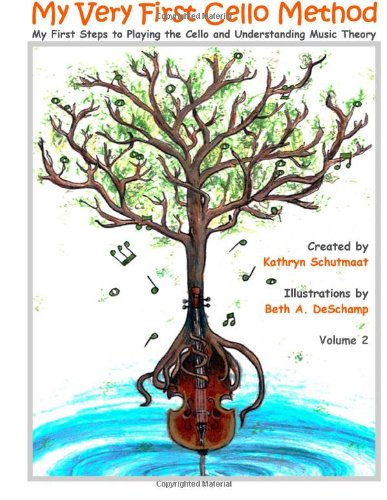 My Very First Cello Method, Vol. 2: My First Steps to Playing the Cello and Understanding Music Theory pdf