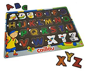 Caillou Z Bilingual Learning Wood Puzzle
