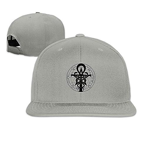 MaNeg Magic Symbol Unisex Fashion Cool Adjustable Snapback Baseball Cap Hat One Size Ash (Minnesota Vikings Gloves Nike)