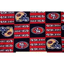 PRECUT 1.5 Yards FLEECE San Francisco 49ers Football NFL Fabric