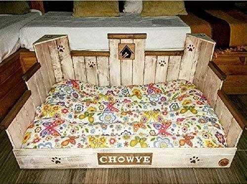 Cama para perro de madera GIGANTE (XL): Amazon.es: Handmade