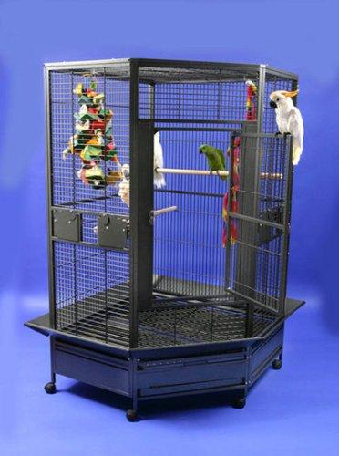 Extra Large Bird Corner Cage 40″ X 22″, My Pet Supplies