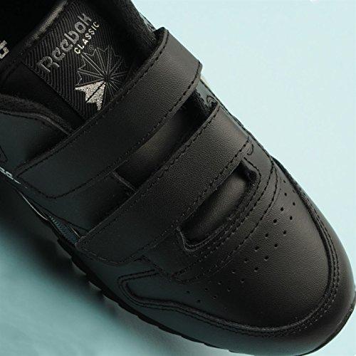 Reebok, Sneaker bambini multicolore Black/Silver