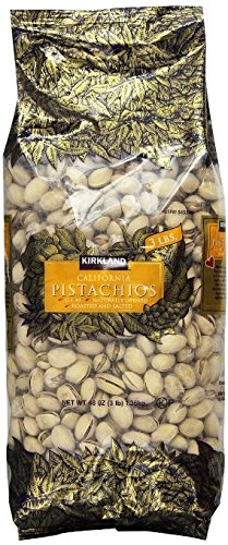 Kirkland In Shell Pistachios 3lbs ( 2 Bags)