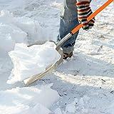 Ashman Aluminium Snow Shovel with Large Head and
