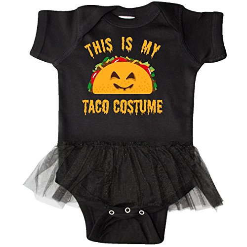 inktastic - Taco Costume Infant Tutu Bodysuit 6 Months Black 3171b -