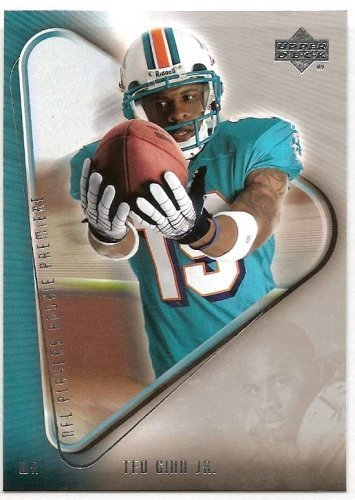 2007 Upper Deck NFL Players Rookie Premiere 7 # Ted Ginn (RC) - Miami Dolphins - Football Card
