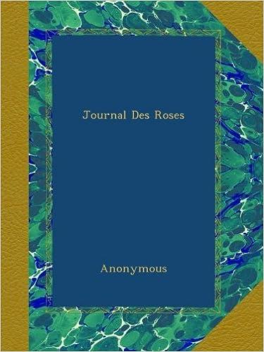 Book Journal Des Roses