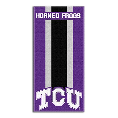 Northwest NCAA TCU Horned Frogs  Beach Towel,  30 x 60-inch
