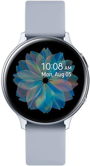 SAMSUNG SM-R820NZSAXEF Galaxy Watch Active 2 (Bluetooth) 44mm, Aluminum, Silver: Amazon.es: Electrónica