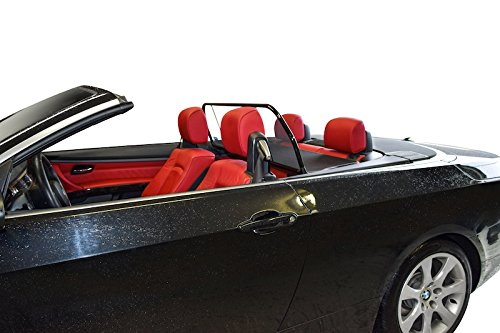 BMW 3 Series convertible wind deflector from 2007 Thru 2014, by Love The Drive Wind Deflector, also know as a Wind Screen, Windstop, Wind Blocker, Wind stopper