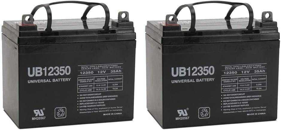 12V, 35AH, Battery, Golden Technology, Golden Companion - 2 Pack
