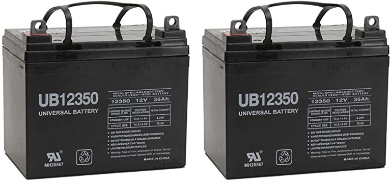 10ah Pro Rider 12V AGM Battery for Mobility Scooter