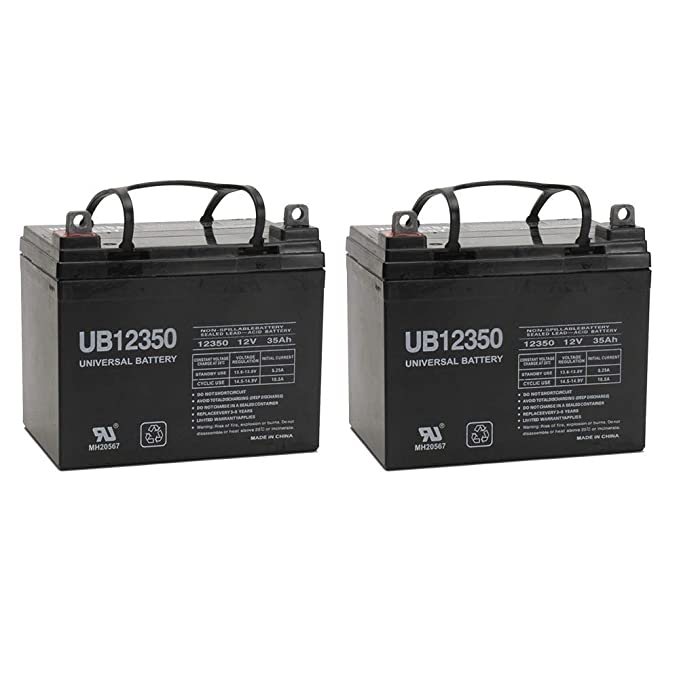 12V 35Ah Revolution Mobility Liberty 312 Power Wheelchair Replacement Battery 2 Pack