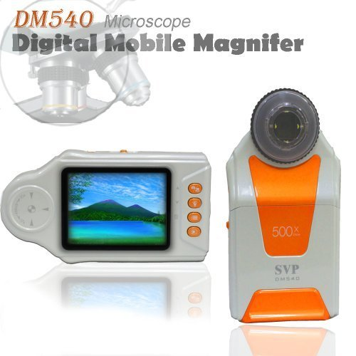 SVP NEW 2.7 inchLCD Digital Mobile Microscope/Maginifier with Build-in Camera, Model: DM540, Electronics & Accessories Store by Electronics World