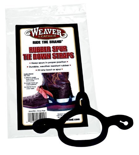 - WEAVER LEATHER RUBBER SPUR TIE DOWN STRAPS