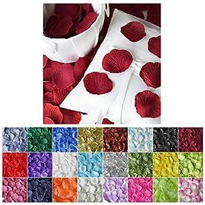 Efavormart 500pcs Artifical Rose Petals for Wedding Confetti Flower Girl Wedding Decoration 19