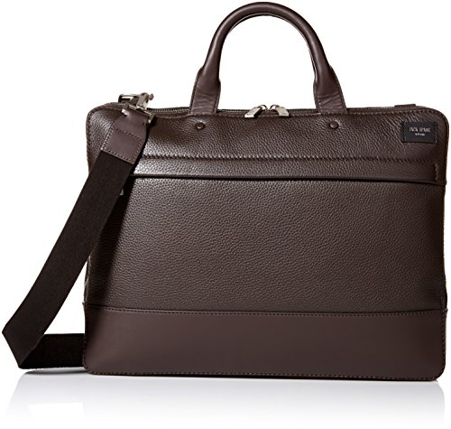 Jack Spade Men's Pebble Leather Slim Brief by Jack Spade
