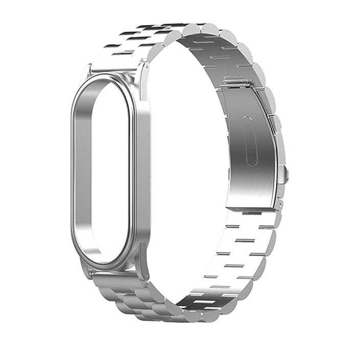Amazon.com: Roisay - Correa de acero para reloj de pulsera ...