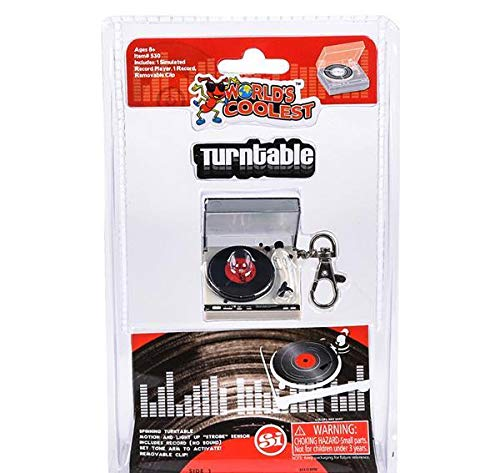 DollarItemDirect Super Worlds Coolest Turntable, Case of 24