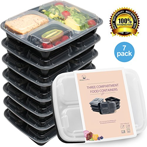 HomeNative Meal Prep Containers Set Pack of 7 by Home Native