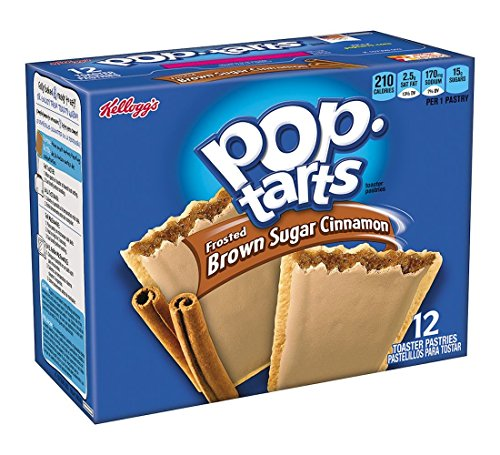 Pop-Tarts Frosted Brown Sugar Cinnamon - 12 Pastries