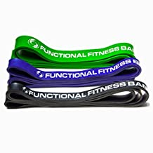 Functional Fitness FF Assisted Bands with Pull-up Pdf Black/Purple/Green