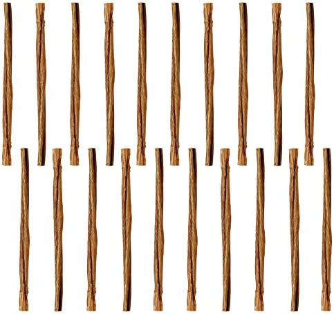 Pawstruck Mini Bully Sticks for Small Dogs Puppies – Natural Bulk Dental Treats for Toy Breeds, Miniature Beef Best Low Odor Pizzle Stix Chew in Springs, Braids, Barbells