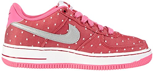 Nike Fille Force Slvr '06 Sneaker Rouge Red gs Air 1 dark pnk Pw white mtllc Chaussons r07wr5q