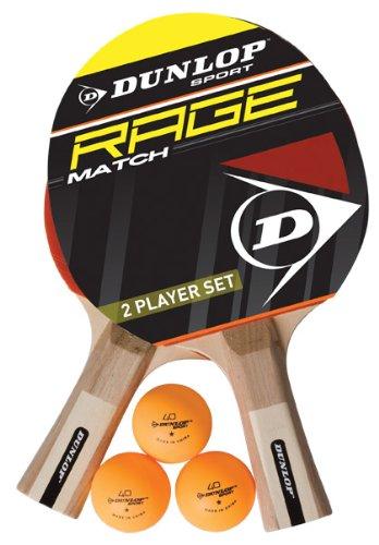 Kit de ping pong DUNLOP Ac Rage Match 2 Player Set