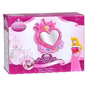Moldea y pinta espejo de princesas disney