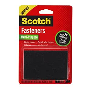 Scotch Multi-Purpose Fasteners, 2  x 3 Inches, 3 Sets per Pack (RF7051)