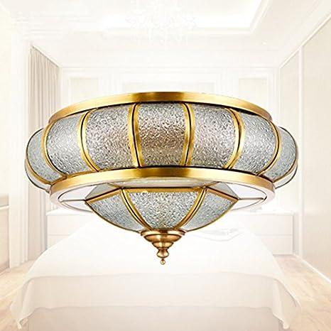 Roymaster Barroco Palacio plafón Cúpula Renaissance Goldene Techo Leuchten Gotas de Agua Cristal Exquisite Salón Iluminación
