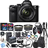 Sony ILCE7M2K/B Alpha a7II Mirrorless Digital Camera with FE 28-70mm f/3.5-5.6 OSS Lens & CS Professional Package: Includes High Speed Transcend 64GB SDXC 45 MB/s 300x Memory Card, Transcend 32GB SDHC 30MB/s 200x Memory Card, SD Card Reader, Memory Card W