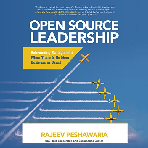 !Best Open Source Leadership: Reinventing Management When There Is No More Business as Usual<br />RAR